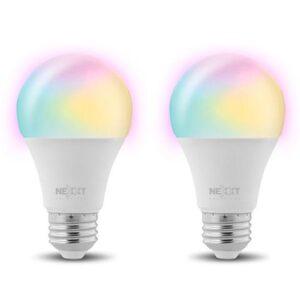 Nexxt Light Bulb RGB 2 Pack